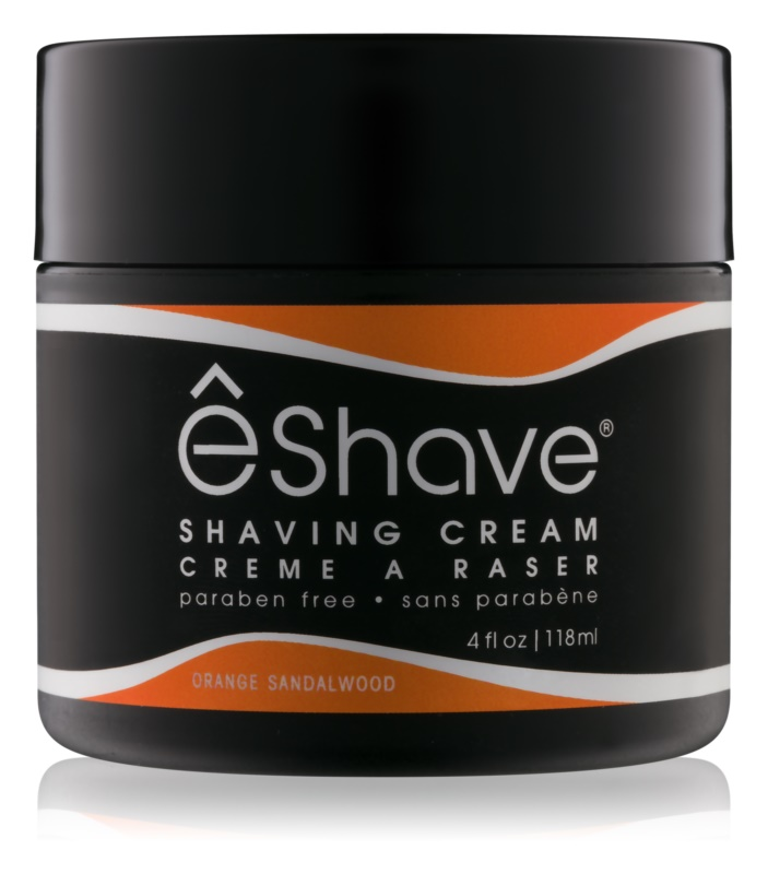 eShave Orange Sandalwood Scheercrème