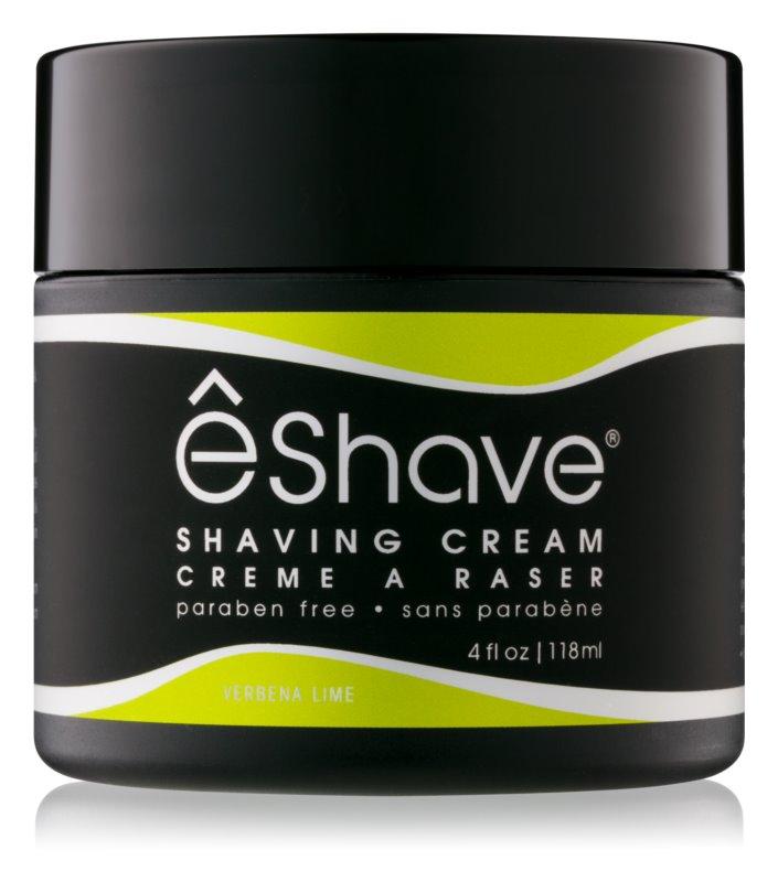 eShave Verbena Lime crème à raser