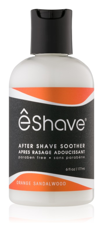 eShave Orange Sandalwood baume apaisant après-rasage