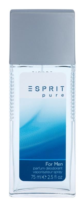 Esprit Esprit Pure for Men Deo mit Zerstäuber für Herren 75 ml
