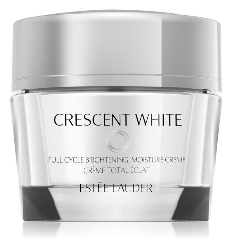 Estée Lauder Crescent White Creme hidratante iluminador anti-manchas de pigmentação