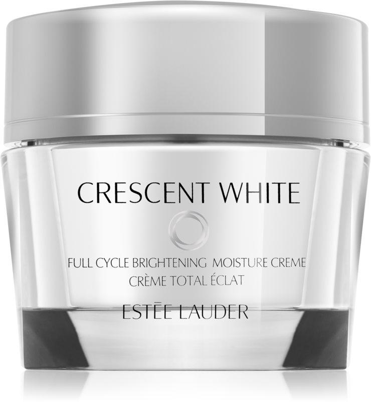 Estée Lauder Crescent White feuchtigkeitsspendende Creme für strahlenden Glanz gegen Pigmentflecken