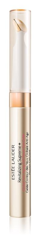 Estée Lauder Revitalizing Supreme + hladilni gel za predel okoli oči proti gubam, zabuhlosti in temnim kolobarjem