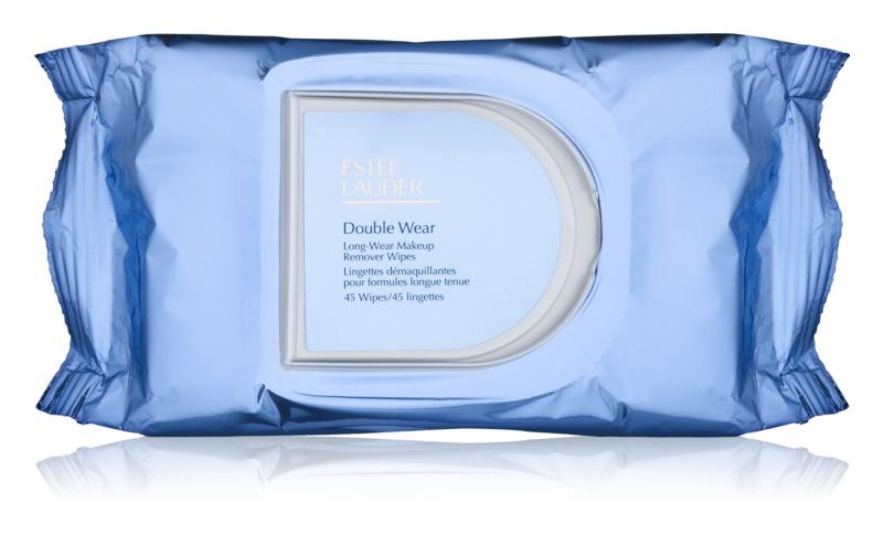 Estée Lauder Double Wear toalhetes removedores de maquilhagem impermeáveis e resistentes à água