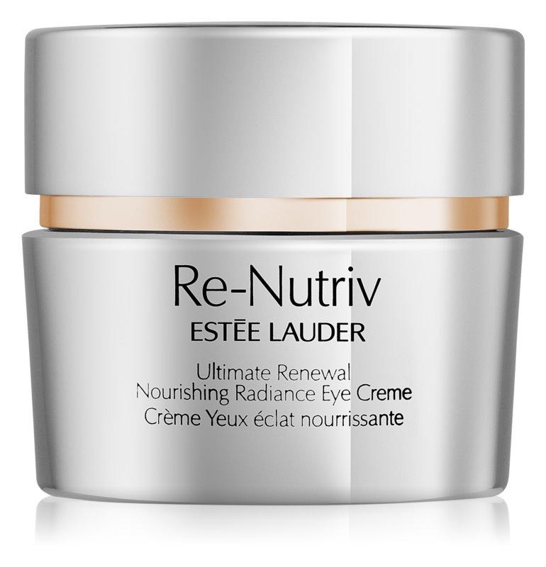 Estée Lauder Re-Nutriv Ultimate Renewal rozjasňujúci očný krém s vyživujúcim účinkom