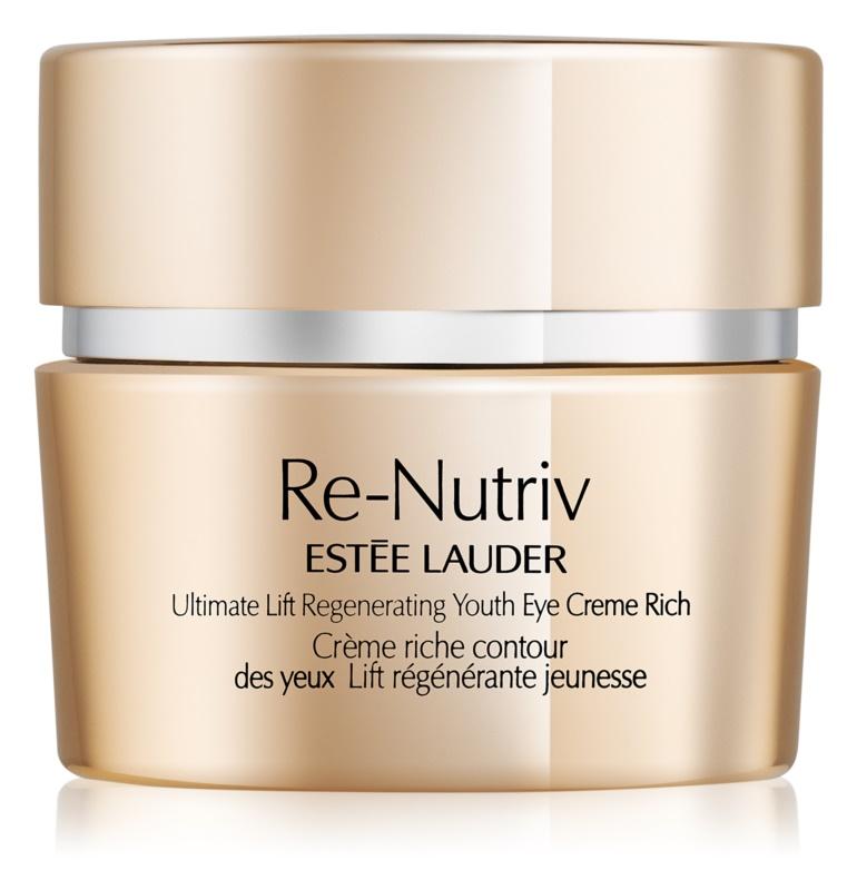 Estée Lauder Re-Nutriv Ultimate Lift vyživujúci očný krém s liftingovým efektom