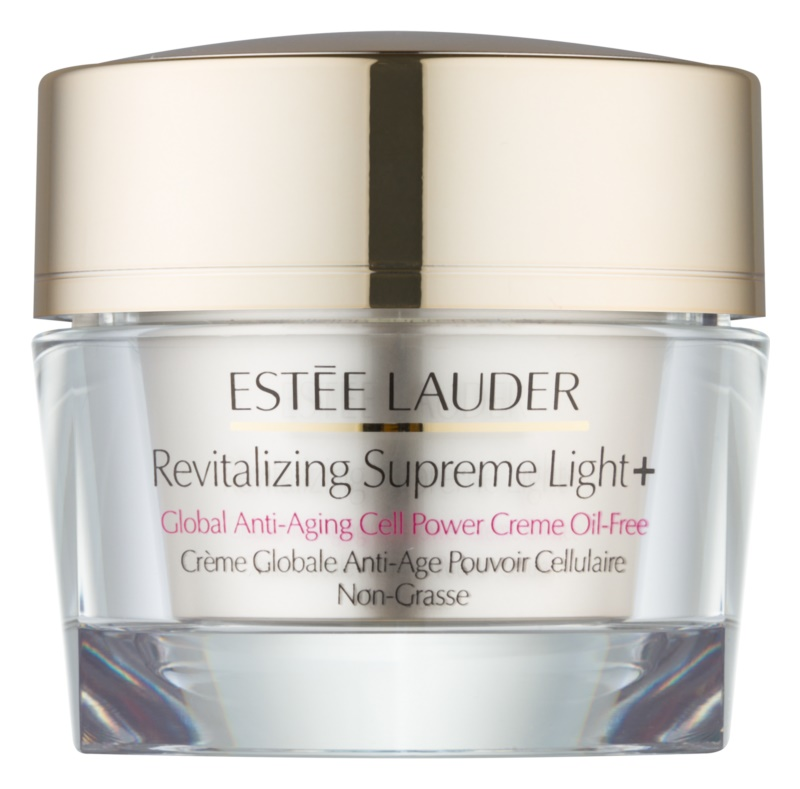 Estée Lauder Revitalizing Supreme Light + crema anti-rid cu extract de Moringa oil free