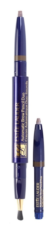 Estée Lauder Automatic Brow Pencil Duo szemöldök ceruza ecsettel és utántöltővel