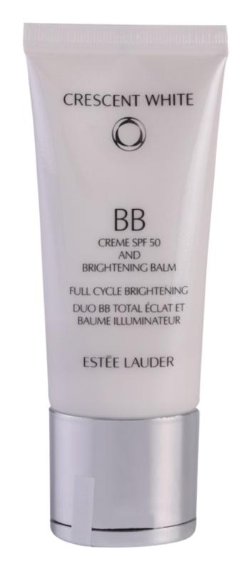 Estée Lauder Crescent White BB creme de brilho contra manchas de pigmentação SPF 50