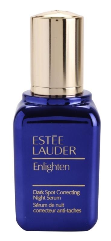 Estée Lauder Enlighten serum na noc przeciw przebarwieniom skóry