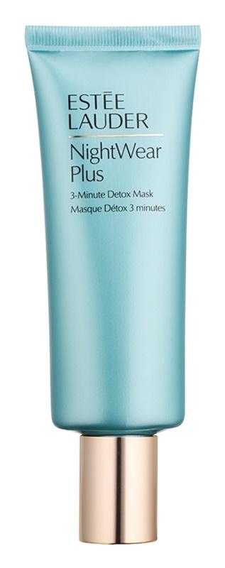 Estée Lauder NightWear Plus 3minutová detoxikační pleťová maska