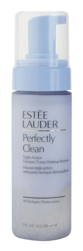 Estée Lauder Perfectly Clean Reinigungswasser, Tonikum und Make-up - Entferner 3in1