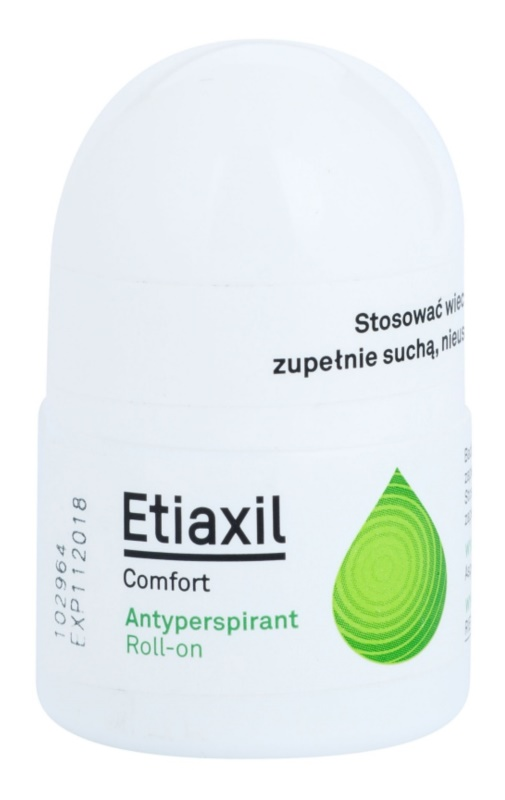 Etiaxil Comfort antitranspirante roll-on con efecto de 3 a 5 días de protección
