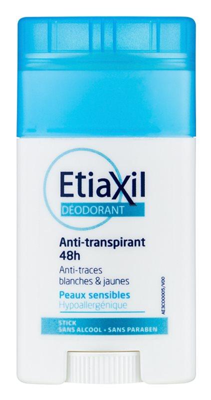 Etiaxil Daily Care desodorante antitranspirante en barra para pieles sensibles