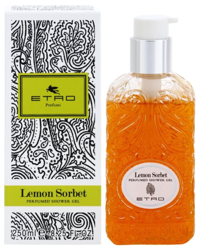 Etro Lemon Sorbet gel de dus unisex 250 ml