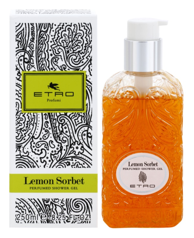 Etro Lemon Sorbet sprchový gel unisex 250 ml