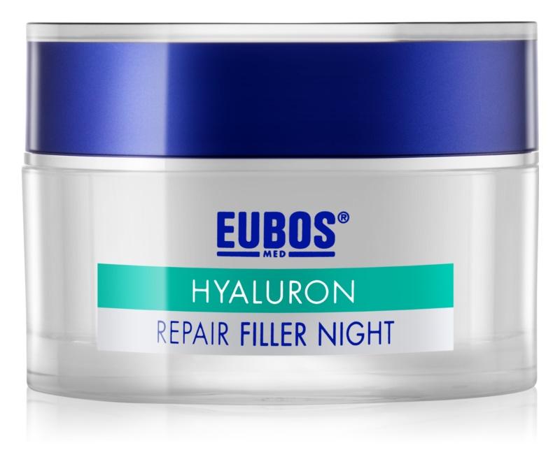 Eubos Hyaluron crème de nuit régénérante anti-rides