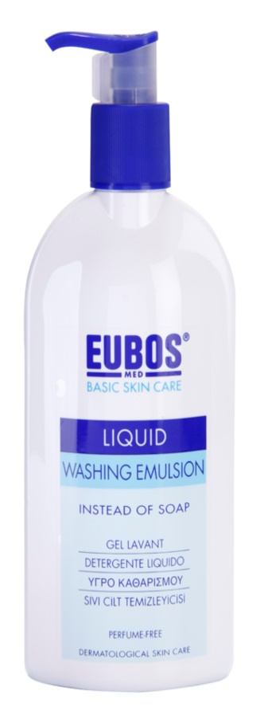 Eubos Basic Skin Care Blue emulsión limpiadora sin perfume