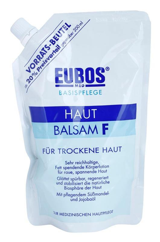 Eubos Basic Skin Care F Body Balm for Dry Skin Refill