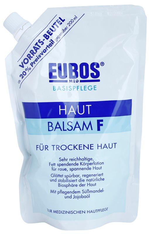 Eubos Basic Skin Care F testbalzsam száraz bőrre utántöltő