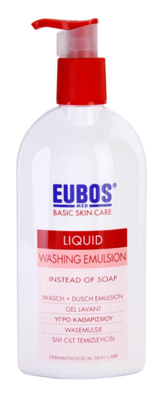 Eubos Basic Skin Care Red tisztító emulzió parabénmentes