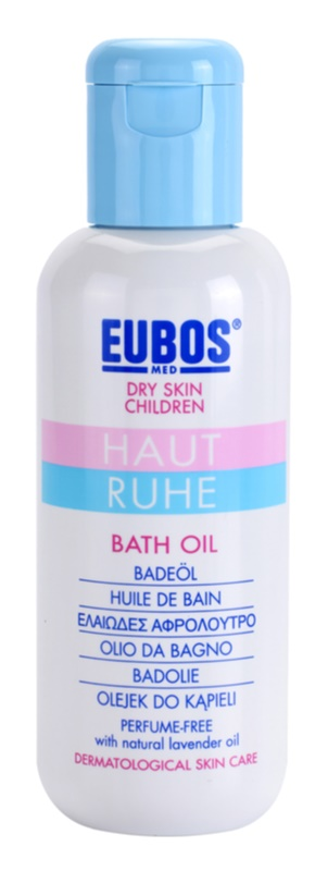 Eubos Children Calm Skin olje za kopel za nežno in gladko kožo
