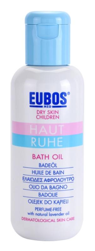 Eubos Children Calm Skin олійка для ванни для ніжної і гладенької шкіри