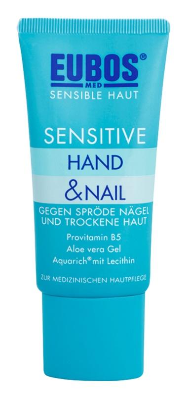 Eubos Sensitive intenzivna nega za suho in razpokano kožo rok in krhke nohte