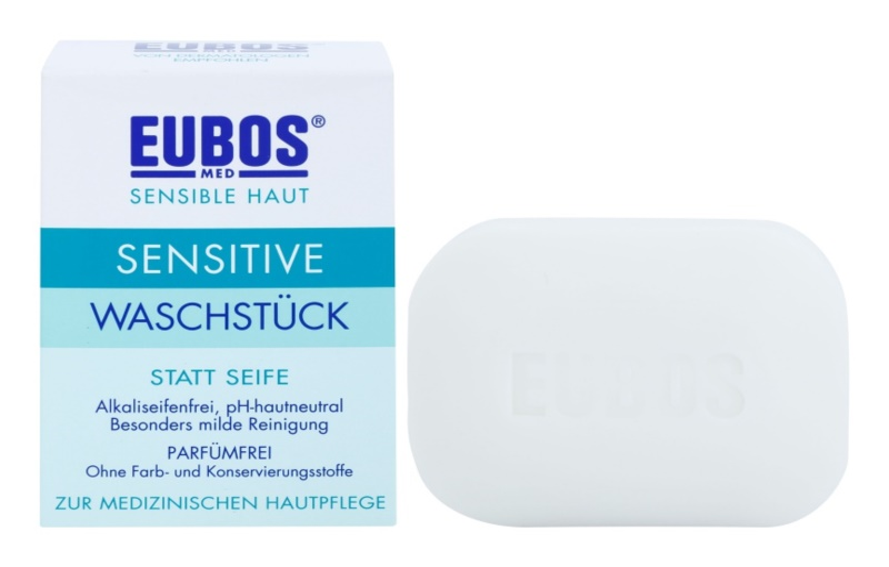 Eubos Sensitive tuhé mýdlo bez parfemace