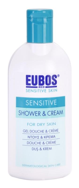 Eubos Sensitive sprchový krém s termálnou vodou