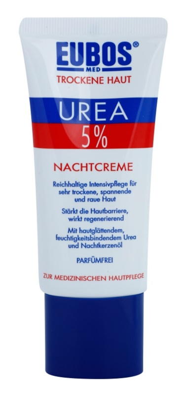 Eubos Dry Skin Urea 5% Voedende Nachtcreme voor Gevoelige en Intolerante Huid