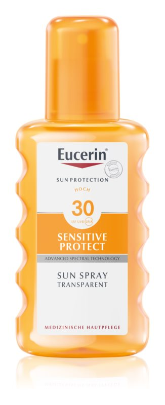 Eucerin Sun Sensitive Protect spray solaire transparent SPF 30