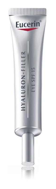 Eucerin Hyaluron-Filler creme de olhos antirrugas profundas