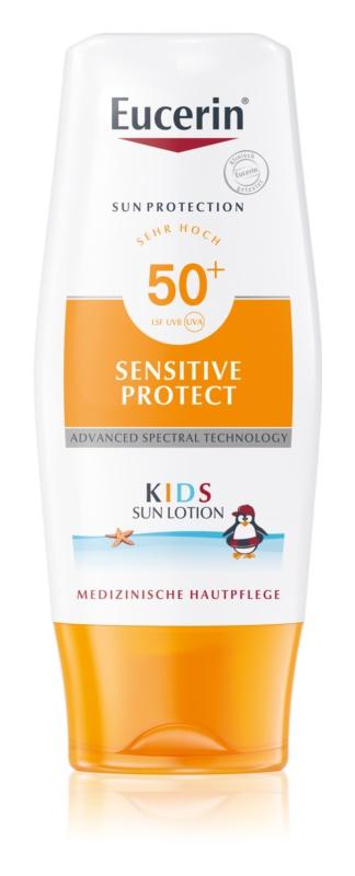 Eucerin Sun Kids ochranné mlieko pre deti SPF 50+