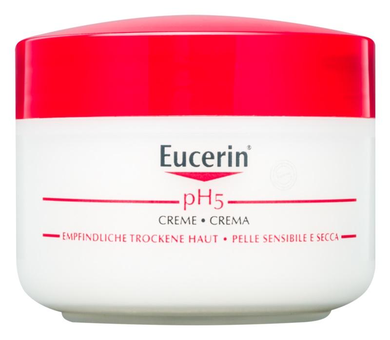Eucerin pH5 Haut – und Körpercreme für empfindliche Oberhaut