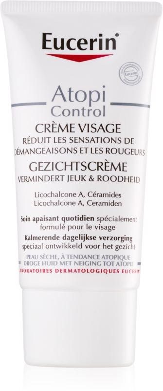 Eucerin Dry Skin Dry Skin Omega krema za obraz za suho do atopično kožo