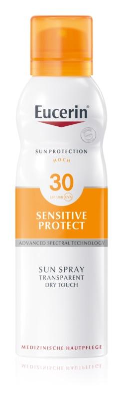 Eucerin Sun Sensitive Protect loțiune transparentă SPF 30