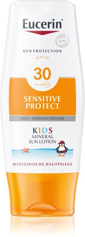Eucerin Sun Kids ochranné mlieko s mikropigmentami pre deti  SPF 30