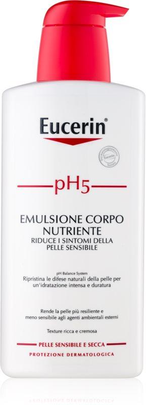 Eucerin pH5 výživné telové mlieko  pre citlivú pokožku