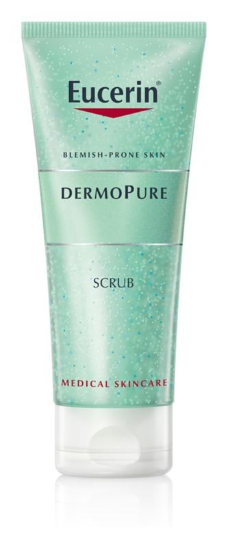 Eucerin DermoPure čistilni piling za problematično kožo