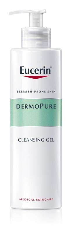 Eucerin DermoPure gel intens pentru curatare pentru pielea problematica