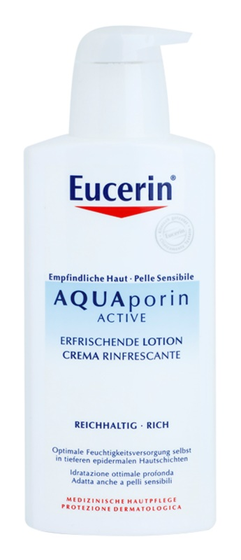 Eucerin Aquaporin Active Body Lotion For Dry and Sensitive Skin