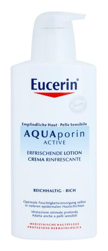 Eucerin Aquaporin Active tělové mléko pro suchou a citlivou pokožku