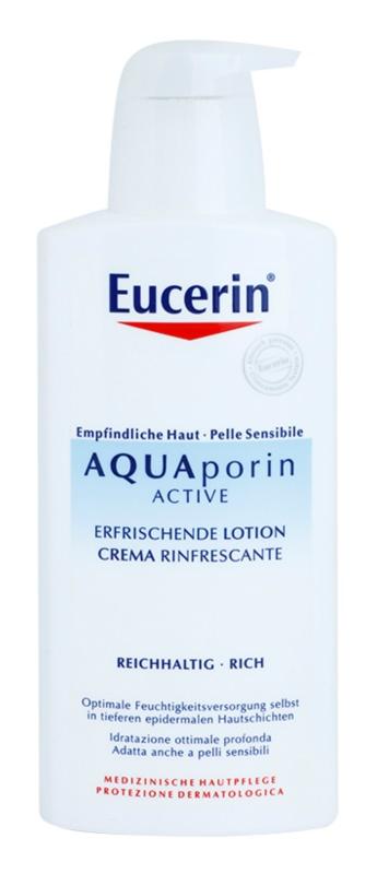 Eucerin Aquaporin Active testápoló tej száraz és érzékeny bőrre