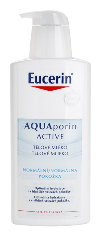 Eucerin Aquaporin Active tělové mléko pro normální pokožku