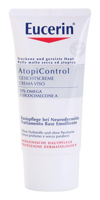 Eucerin AtopiControl pomirjujoča krema za suho in srbečo kožo