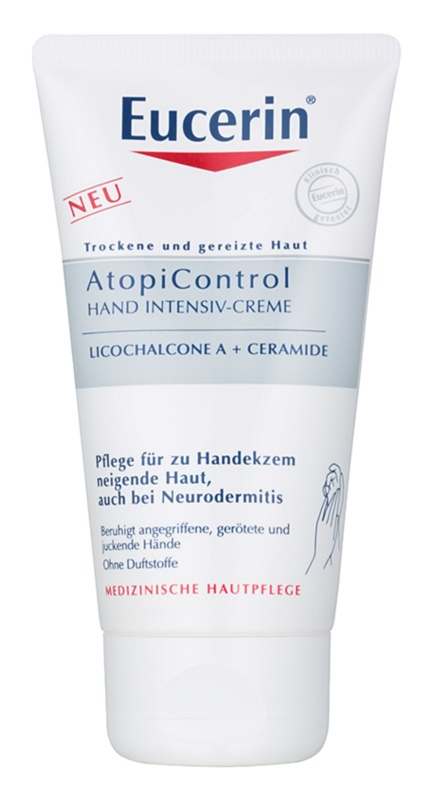 Eucerin AtopiControl крем для рук для сухої та атопічної шкіри