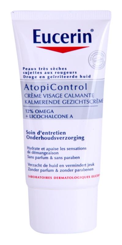 Eucerin Dry Skin Dry Skin Omega bőrkrém száraz és atópiás bőrre
