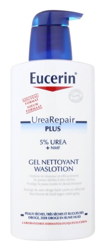 Eucerin Dry Skin Urea Duschgel regeneriert die Hautbarriere