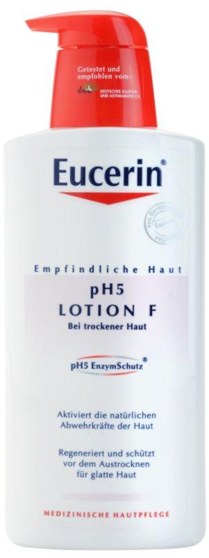 Eucerin pH5 intenzív testápoló tej száraz bőrre